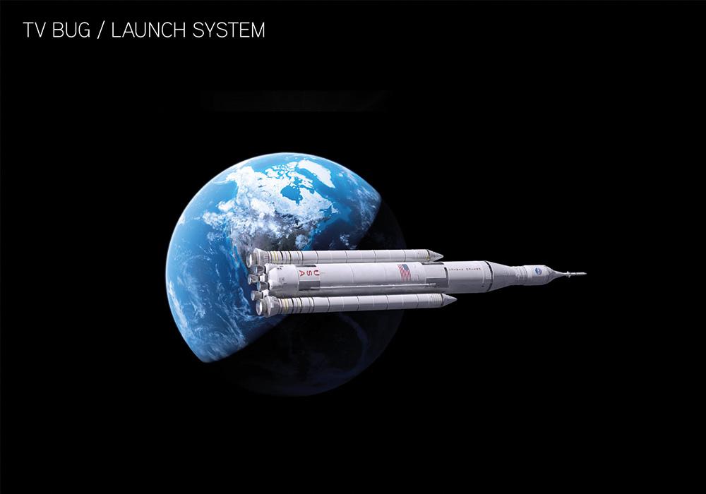 NASA UHD Identidad Launch System