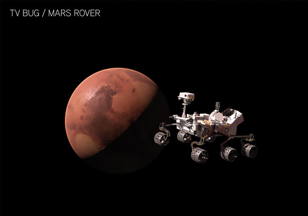 NASA UHD Identidad Rover
