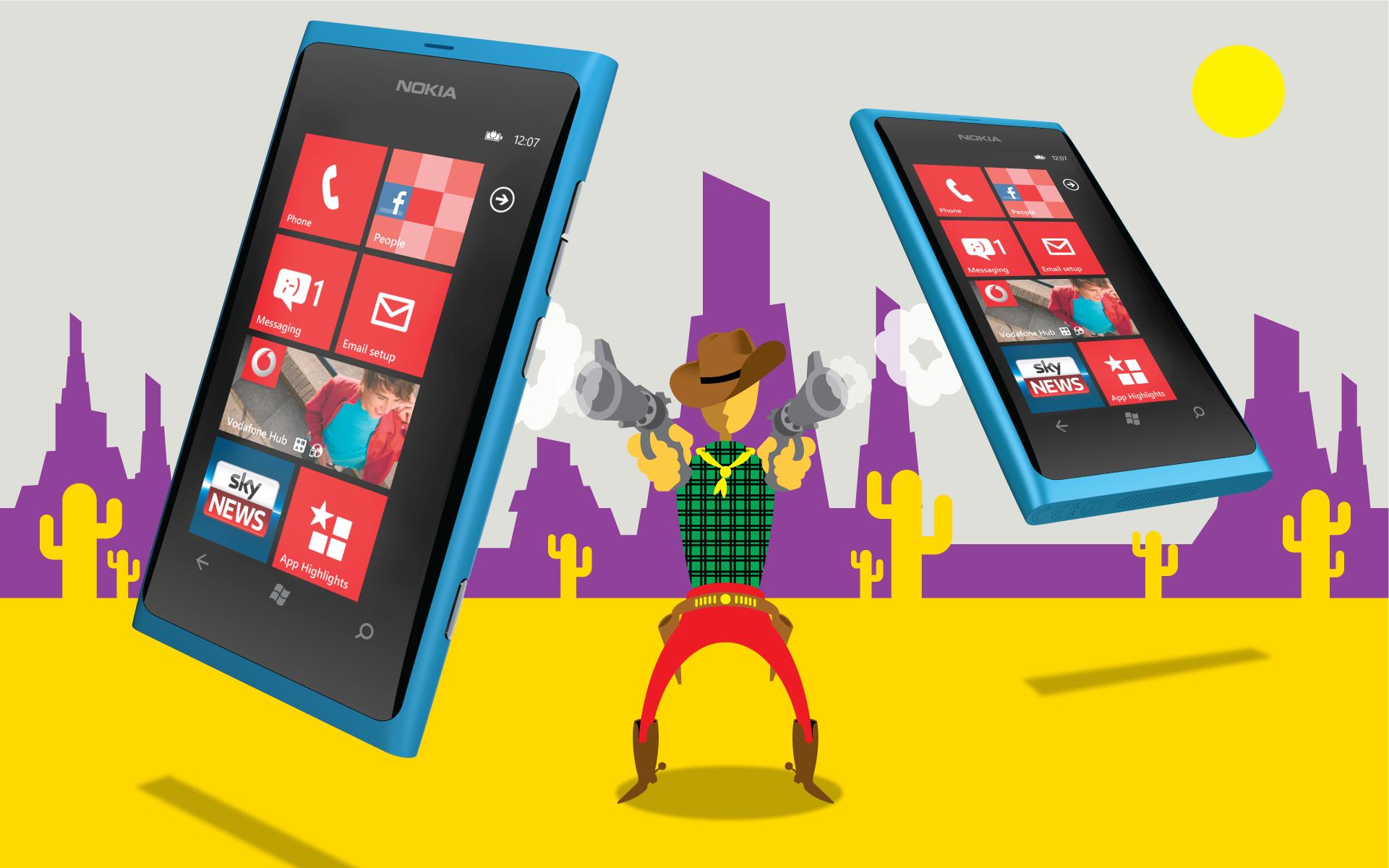 Vodafone illustration